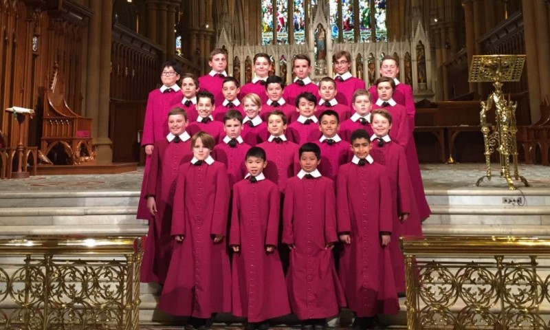 Australië  The Choristers of St. Mary's Cathedral Choir, Sydney [1600x1200]